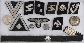 GERMAN WWII SS RELATED INSIGNIA