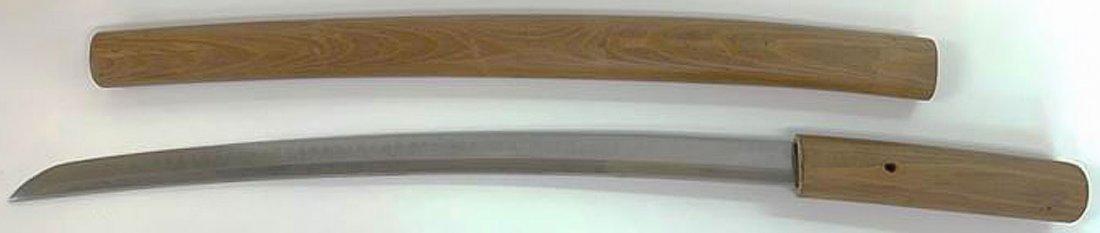 SIGNED JAPANESE WAKIZASHI SWORD EDO PERIOD