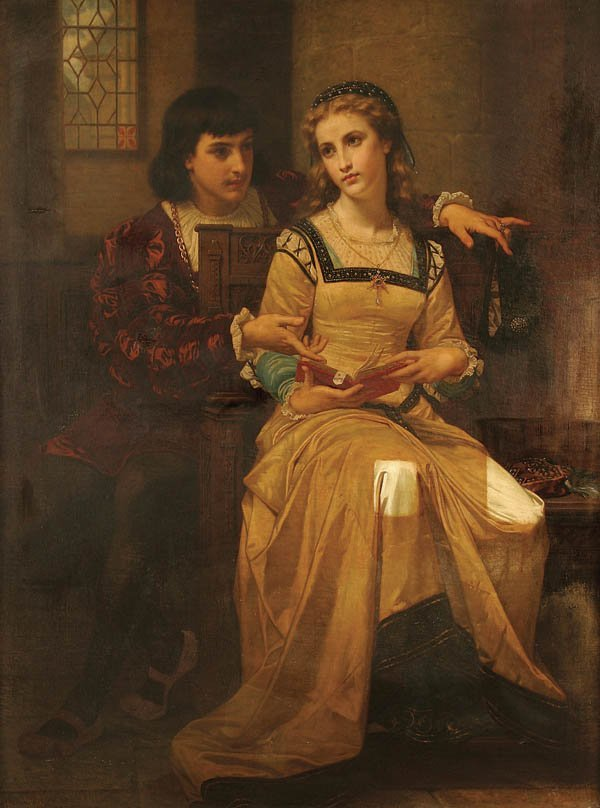 1: HUGUES MERLE (French 1823-1881) Romeo and Juliet-