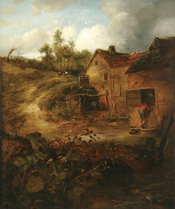 21: WILLIAM ROBERT EARL (British 19th century) Rustic