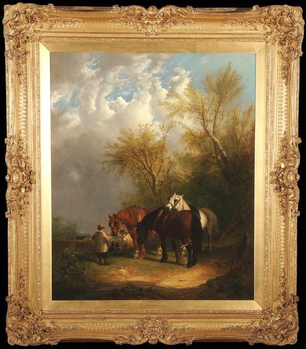 22: WILLIAM JOSEPH SHAYER (British 1811-1892) Noonday