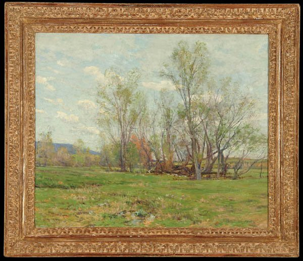 486: HUGH BOLTON JONES (American 1848-1927) Spring Oil