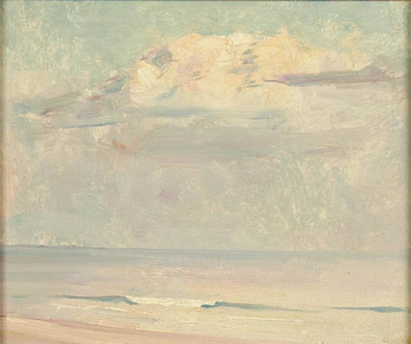 496: EMIL CARLSEN (American 1852-1932) Study of Clouds