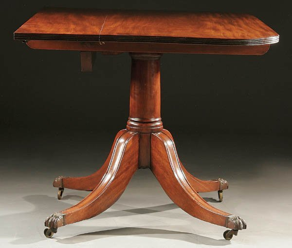 GILLINGTONS IRISH REGENCY MAHOGANY  TABLE