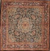 667: A GOOD PERSIAN TABRIZ CARPET after 1950, hand wov