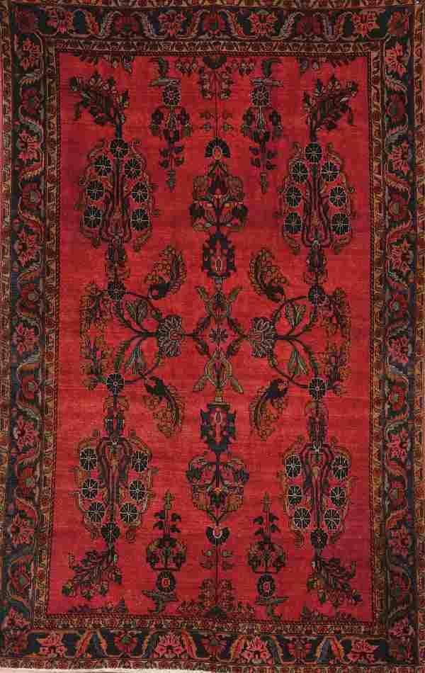 668: A VERY FINE PERSIAN MAHAJERON SAROUK RUG circa 19