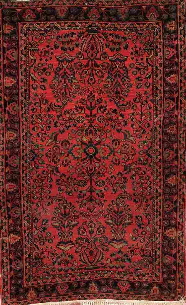 677: A GOOD PERSIAN SAROUK RUG circa 1930's, hand wove