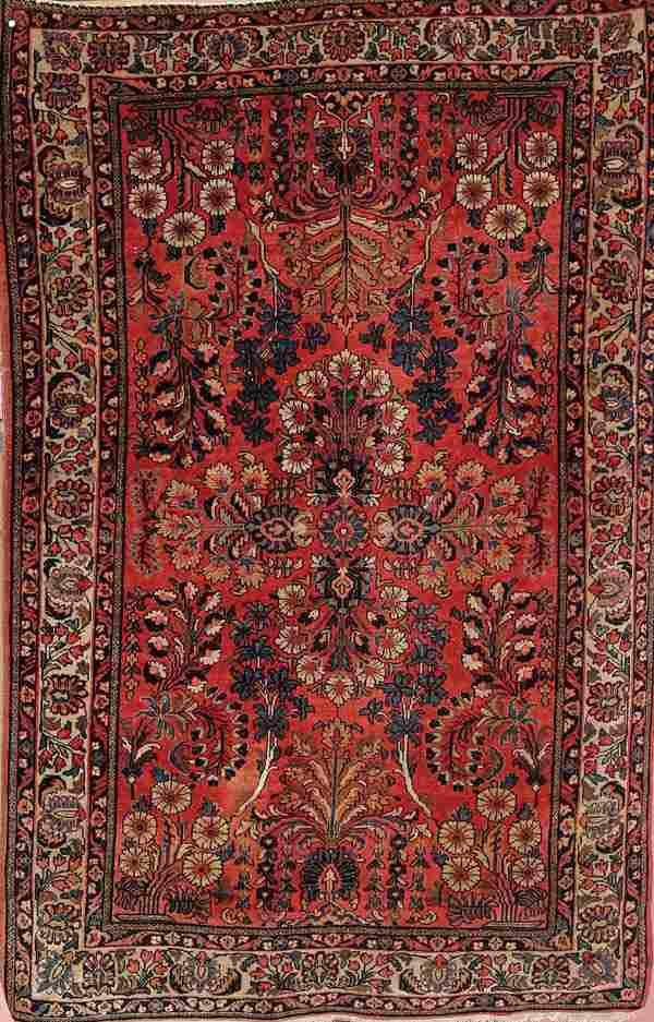 678: A VERY FINE PERSIAN SAROUK RUG circa 1920's, hand
