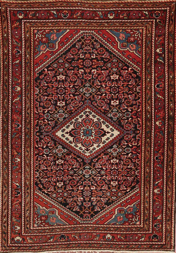 679: A GOOD PERSIAN KURDISH RUG circa 1930's, hand wov