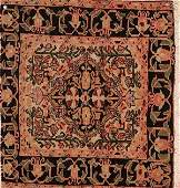 694: A FINE PERSIAN FERAGHAN SAROUK RUG hand woven woo
