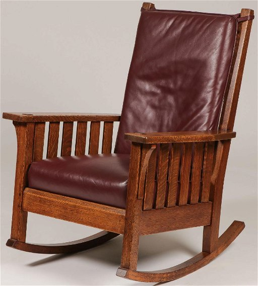 Astonishing L Jg Stickley Rocker 451 Creativecarmelina Interior Chair Design Creativecarmelinacom