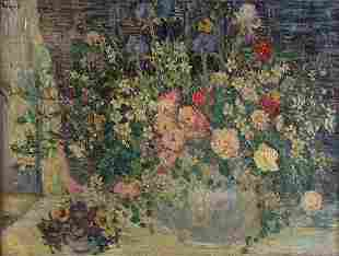 DOROTHEA LITZINGER (American 1889-1925) Spring Fl