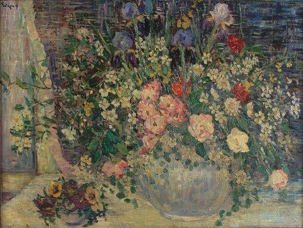 4: DOROTHEA LITZINGER (American 1889-1925) Spring Fl