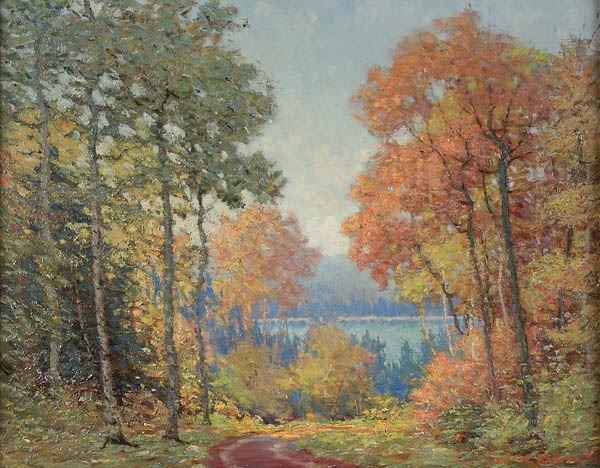 6: CARL WENDELL RAWSON (American 1884-1970) Autumn R
