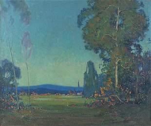 RANDOLPH LASALLE COATS (American 1891-1957), Summ