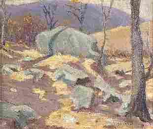 MARTHA W. MASSIE (American b. 1894), Afternoon Sh