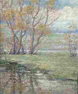CARL WENDELL RAWSON (American 1884-1970) Minnehah