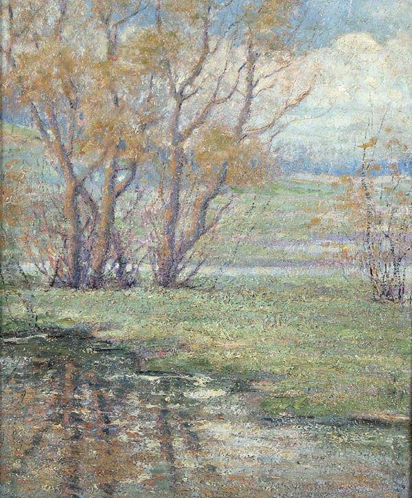 9: CARL WENDELL RAWSON (American 1884-1970) Minnehah