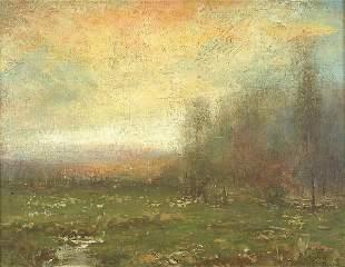 JOHN FRANCIS MURPHY (American 1853-1921) Last Af