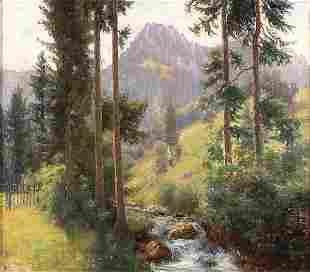 AMERICAN SCHOOL (19th/20th Century), Sierra Splen