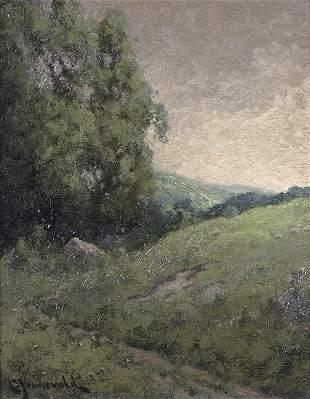 CARL HENRICK JONNEVOLD (American 1856-1955), Land