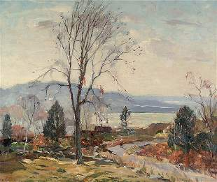ANTONIO CIRINO (American 1889-1982) Seaside Lands