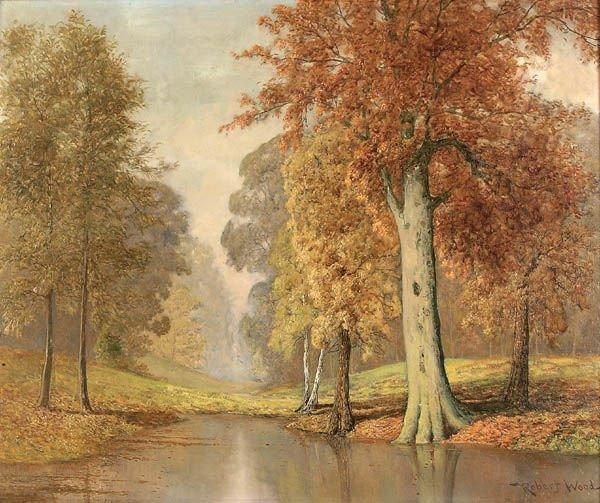 19: ROBERT W. WOOD (American 1889-1979), Fall Landsca