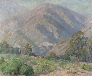 WILLIAM GALEN DOSS (American 1873-1957), Californ