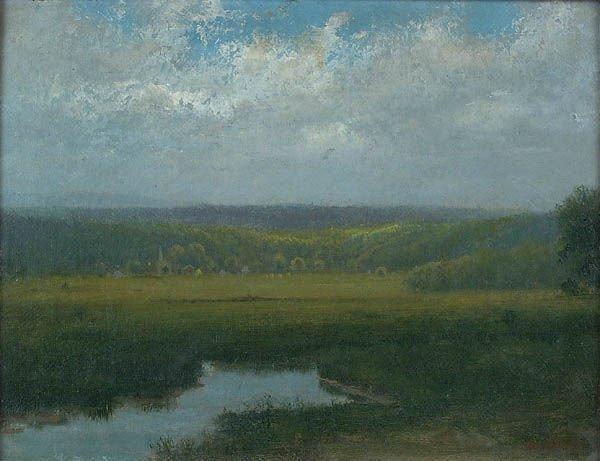 23: GEORGE HARVEY (American 1835-1920), Scenic Overlo
