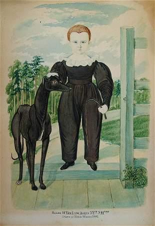 HENRY WALTON (American 1820-1873), Silas H. Van L