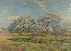 143: AUGUST WILHELM DENCKER (German b. 1882-) Spring B