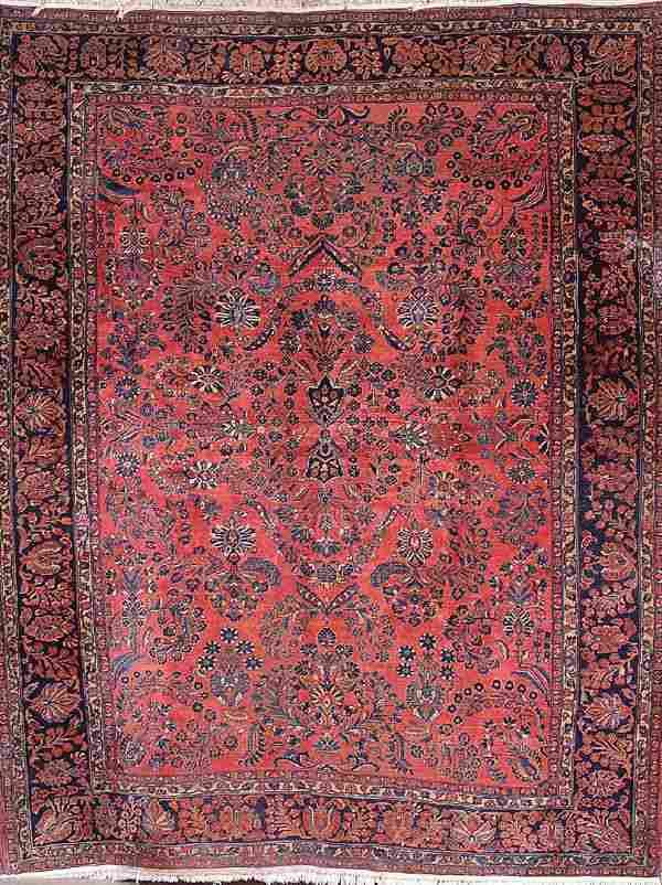 """964: A GOOD PERSIAN """"SAROUK"""" ORIENTAL CARPET circa 193"""