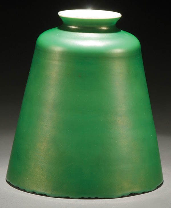 92: A STEUBEN ART GLASS SHADE