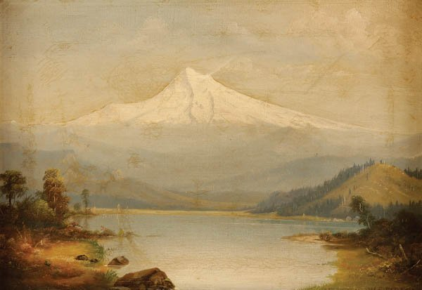 787: WILLIAM SAMUEL PARROTT (American 1844-1915) Mount