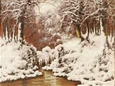 804 LASZLO NEOGRADY Hungarian 19001962 Fresh Snow