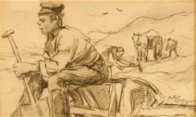 970: 4 AMERICAN SCHOOL WORKS (American 19th/20th centur