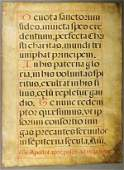 1063 A PAIR OF 17TH C ILLUMINATED VELLUM LEAVES