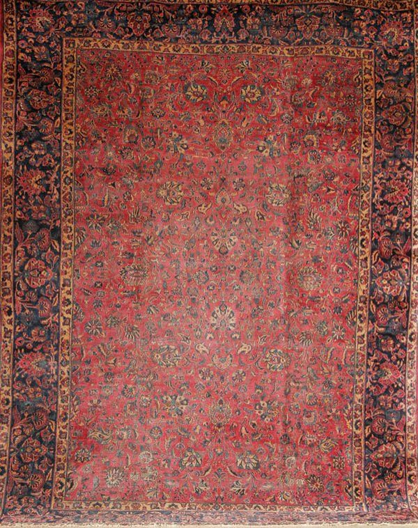 1270: A PALACE SIZE PERSIAN KASHAN HANDWOVEN ORIENTAL R