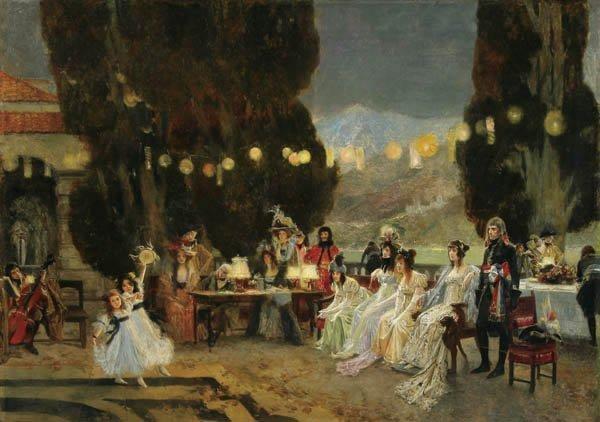 2: Francois Flameng (French 1856-1923) Napoleon