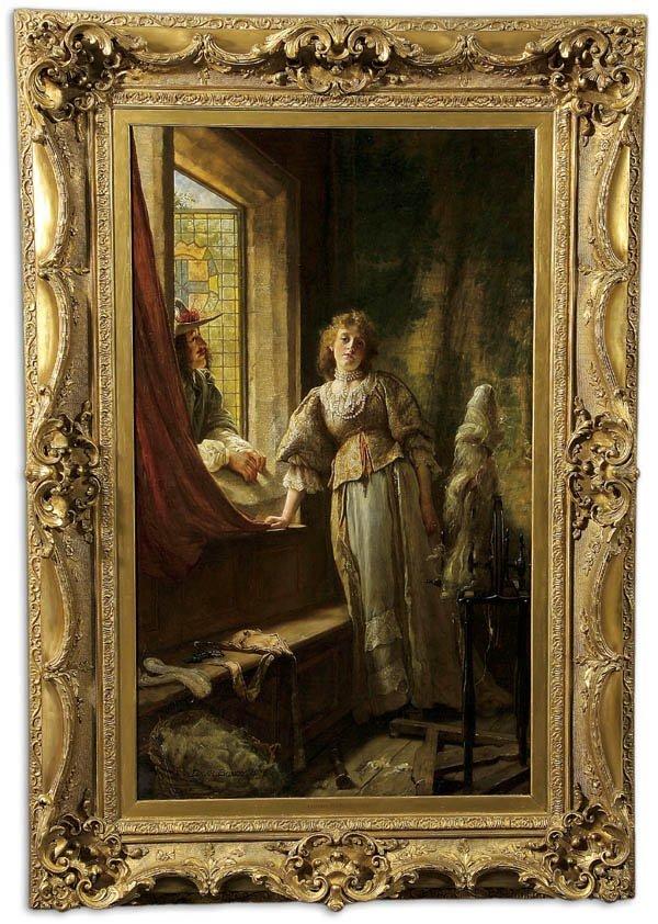 3: Edgar Bundy (British 1862-1922) A Young Maiden