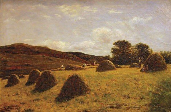 5: Joseph Henderson (Scottish 1832-1908) Making Hay