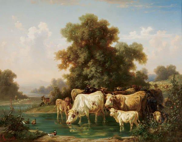 8: Louis (Ludwig) Reinhardt (German 1849-1870)