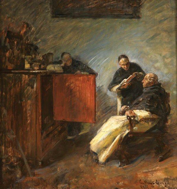 13: Carl Mayr-Graetz (Austrian 1850-1929)