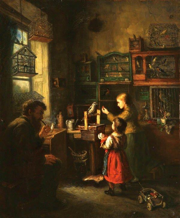 15: Joseph Mayr-Castellbell  (German 1821-1893)