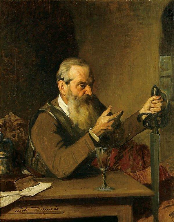 19: Emile Deleperee (Belgian 1850-1896)