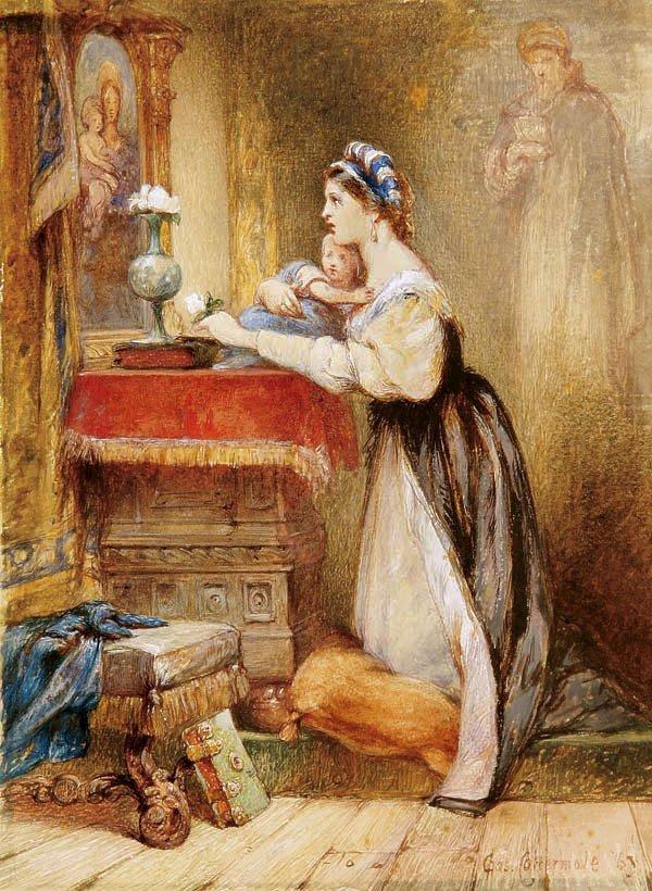 23: Charles Cattermole (British 1832-1900)