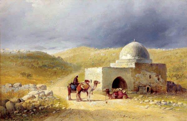 24: Paul H. Ellis (British 1882-1908) Near Bethleham