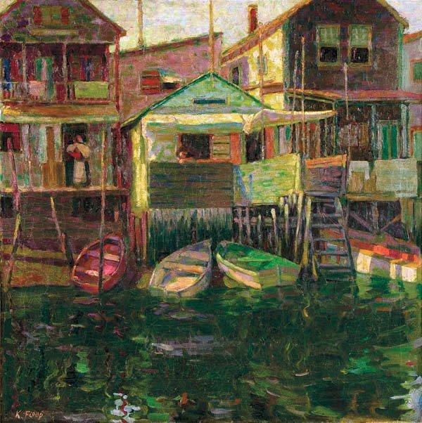 462: Karoly Fulop (Hungarian/American 1893-1963)