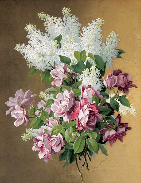 469: Raoul Maucherat de Longpre (French 1855-1911)