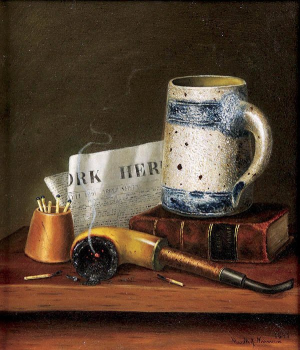 470: Mary Jane Nunan (American b. 1852) Still Life